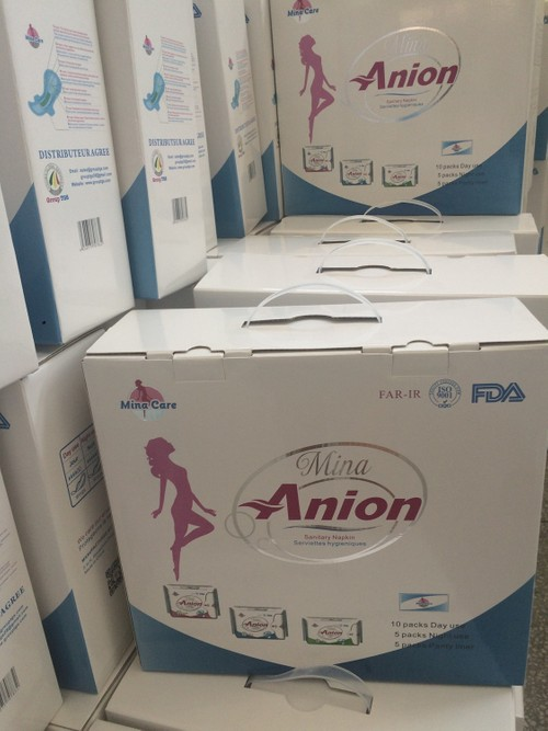 MINA CARE ANION SANITARY NAPKINS