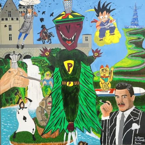 Mr.Paranoia: A fantasy World