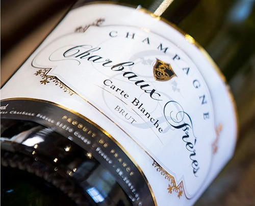 Champagne Carte blanche Brut Charbaux frères
