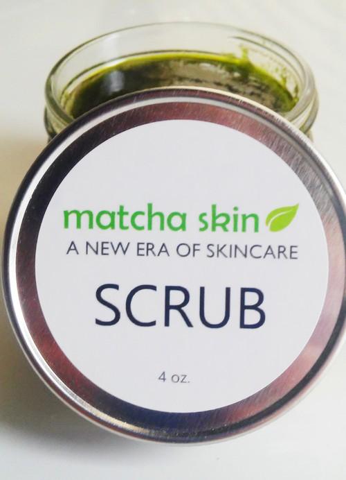 Matcha Scrub