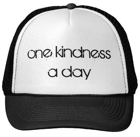 One Kindness a Day Trucker Hat