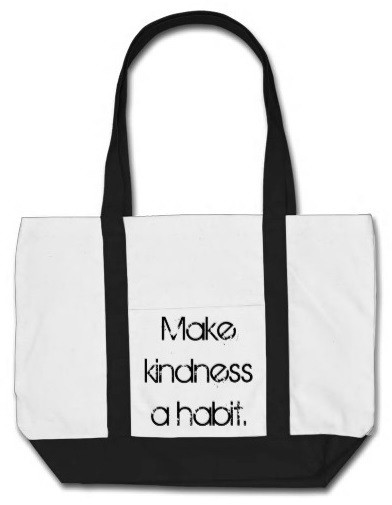 Make Kindness a Habit Beach Tote