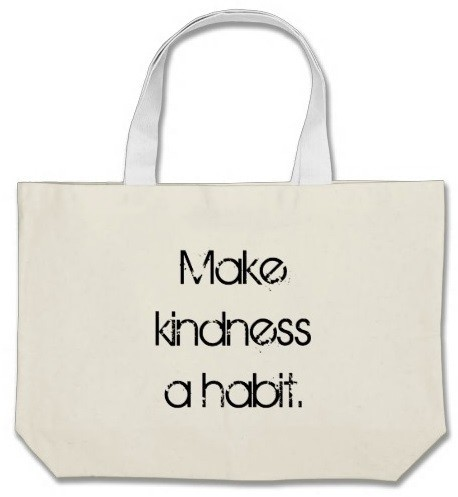 Make Kindness a Habit Jumbo Tote