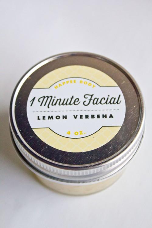Lemon Verbena 1 Minute Facial
