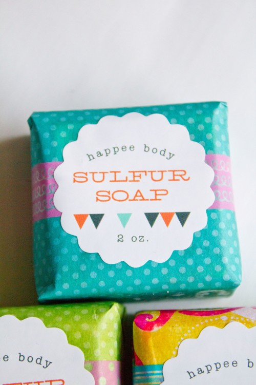 Anti-Acne Sulfur Soap