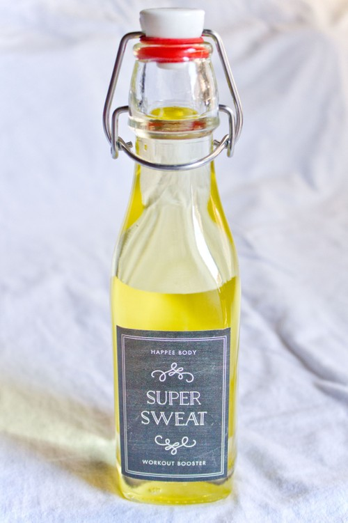Super Sweat Oil Workout Booster