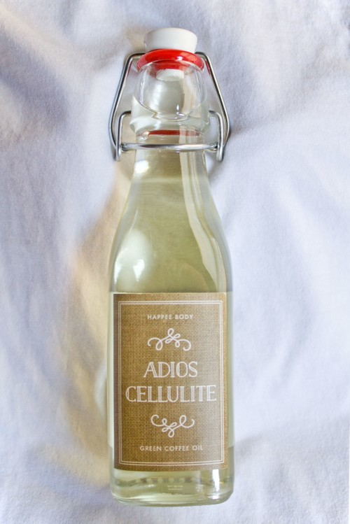 Adios Cellulite Green Coffee Oil