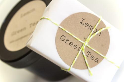 Lemon + Green Tea Skin Lightening Soap & Scrub Set