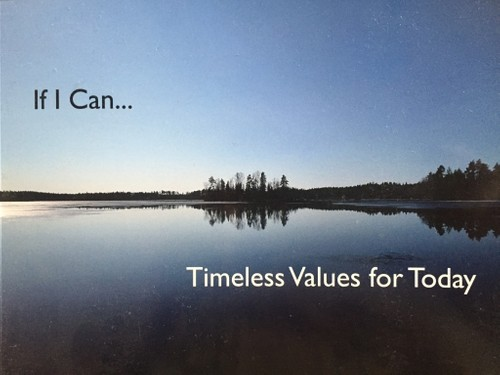 If I Can… Timeless Values for Today
