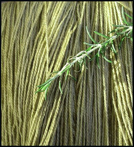 'Herbal' Natural plant dyed merino 5 ply 3-tone