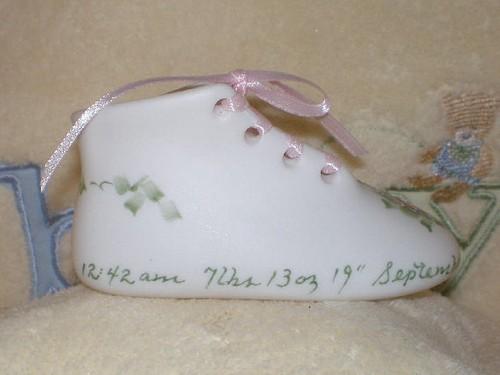 Girl's Standard Porcelain Baby Shoe