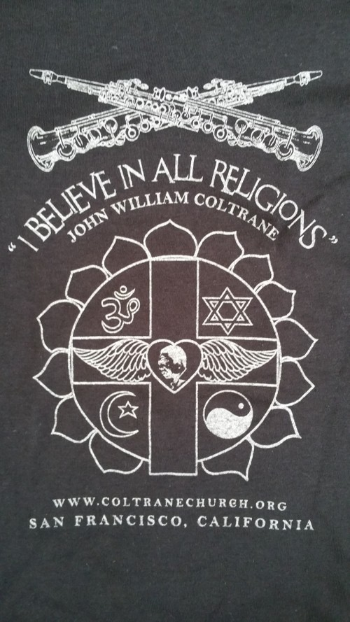"""I Believe In All Religions""  (t-shirt)"