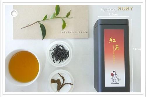 曾的紅玉紅茶/ 75克/ 罐