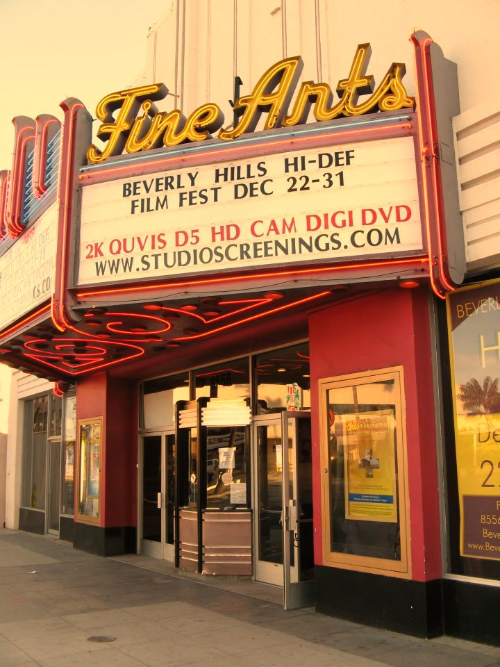 Beverly Hills Hi-Def Film Festival, Fine Arts Theater