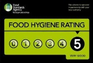 Our 5 star hygiene rating
