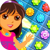 Amazing Flower Match 3 Garden Puzzle