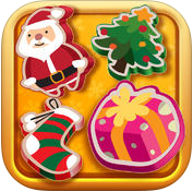 Santa's Christmas Match Gold