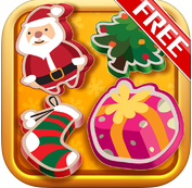 Title TextSanta's Christmas Match Gold Free