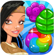 Sweetest Fruit Jelly Quest Saga: Swap Match 3 Puzzle Best Fun Game