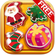 Santa's Christmas Match Gold Free