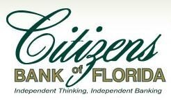 Logo for Citizens Bank of Florida