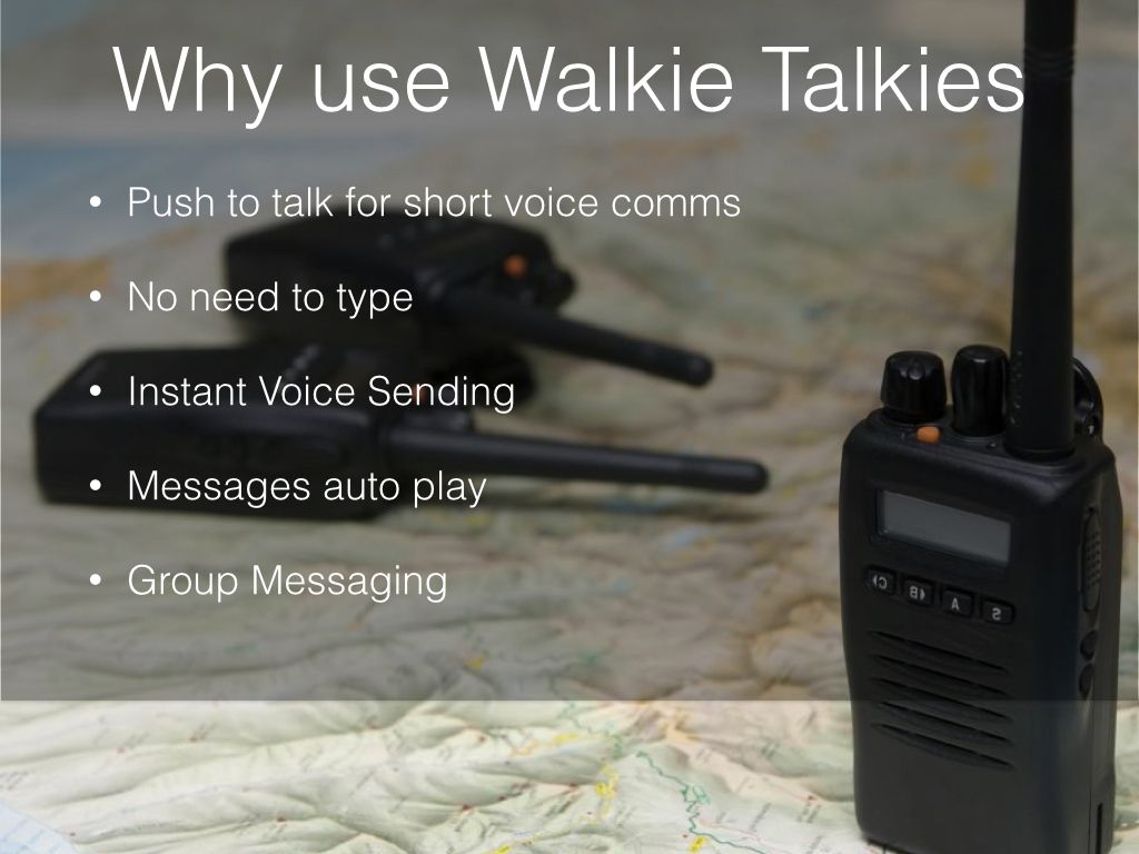 Walkie Talkie for Business
