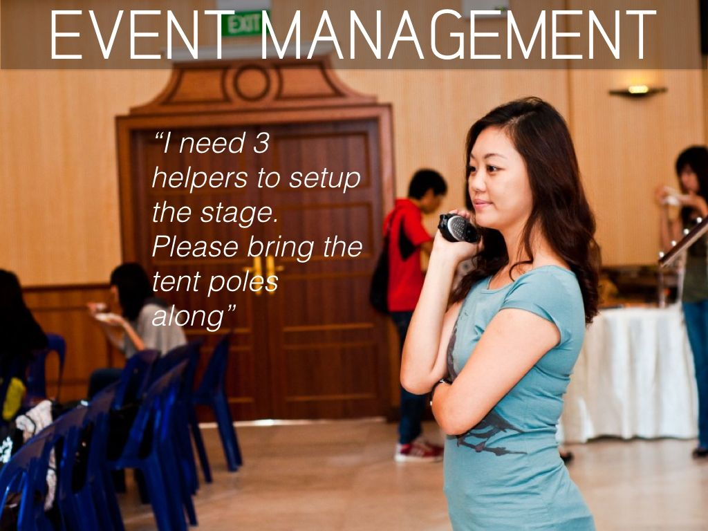Walkie Talkie for Event Management