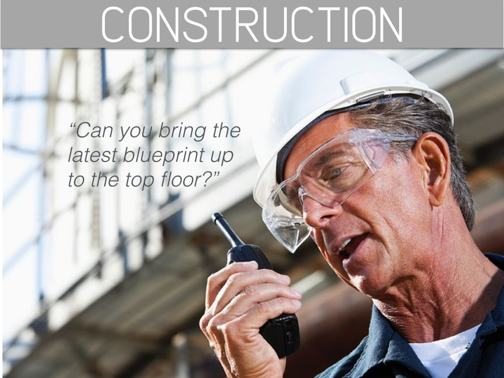 Walkie Talkie for Building and Construction