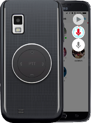 PTT Button for The Best Walkie Talkie App Experience