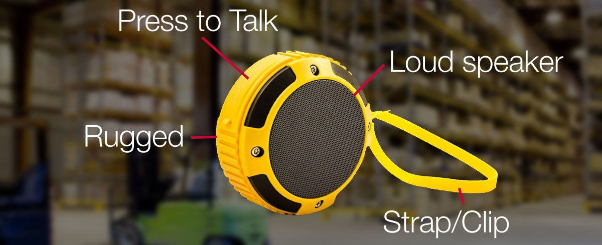 VoicePing Bluetooth Remote Speaker for The Best Walkie Talkie App Experience
