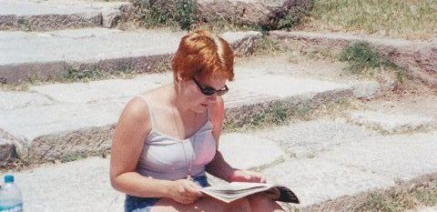 Me, in Greece