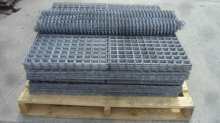 Gabion Basket Flatpack form on pallet