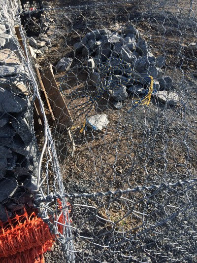 Poor quality gabion basket