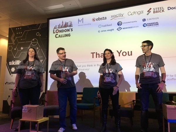 Great work! Thank you!! 9 countries represented today @LDNsCall