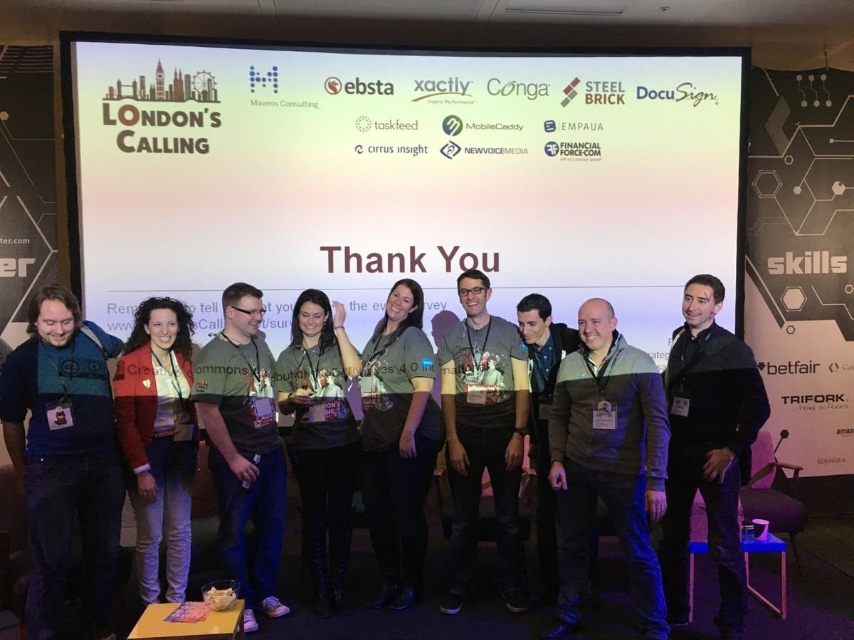 France, Spain and Belgium community leaders just announced their community events st #LondonsCalling Woohoo!!!!