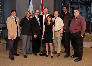 Speakers for the first Israel Truth Week conference, 2012
