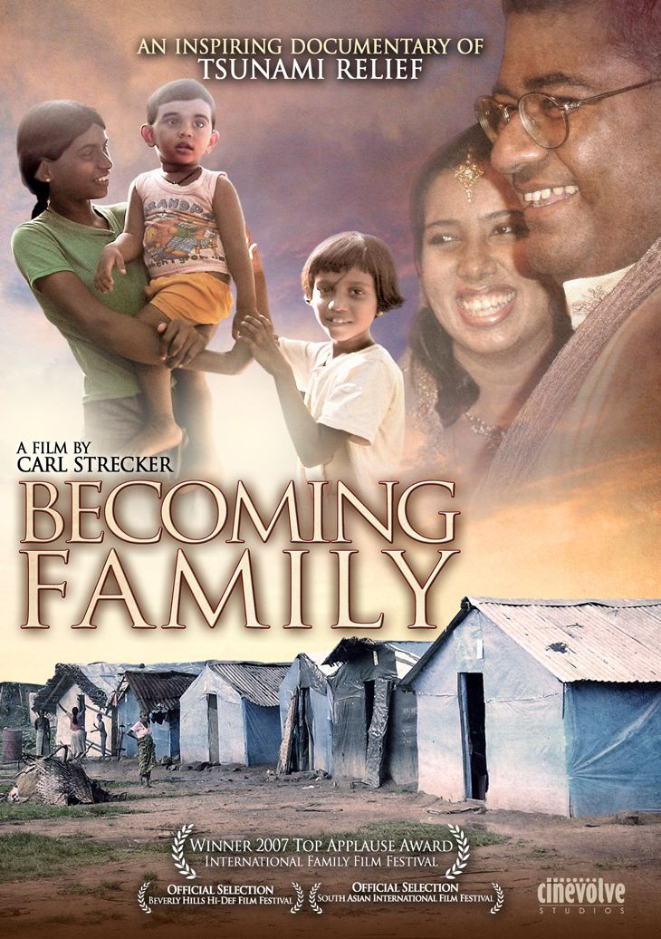 Becoming Family: An Inspiring Documentary of Tsunami Relief poster