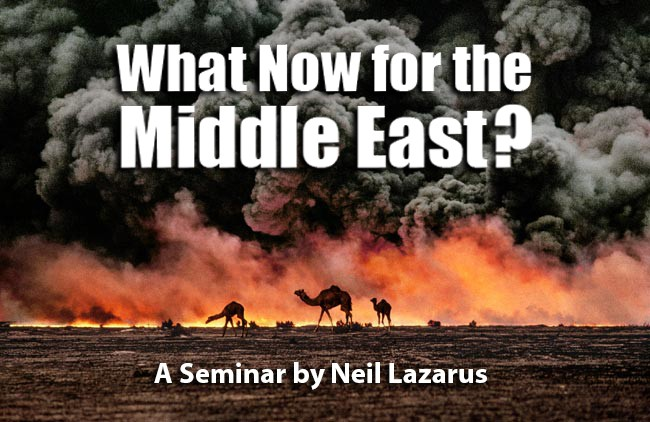 What now for the Middle East?