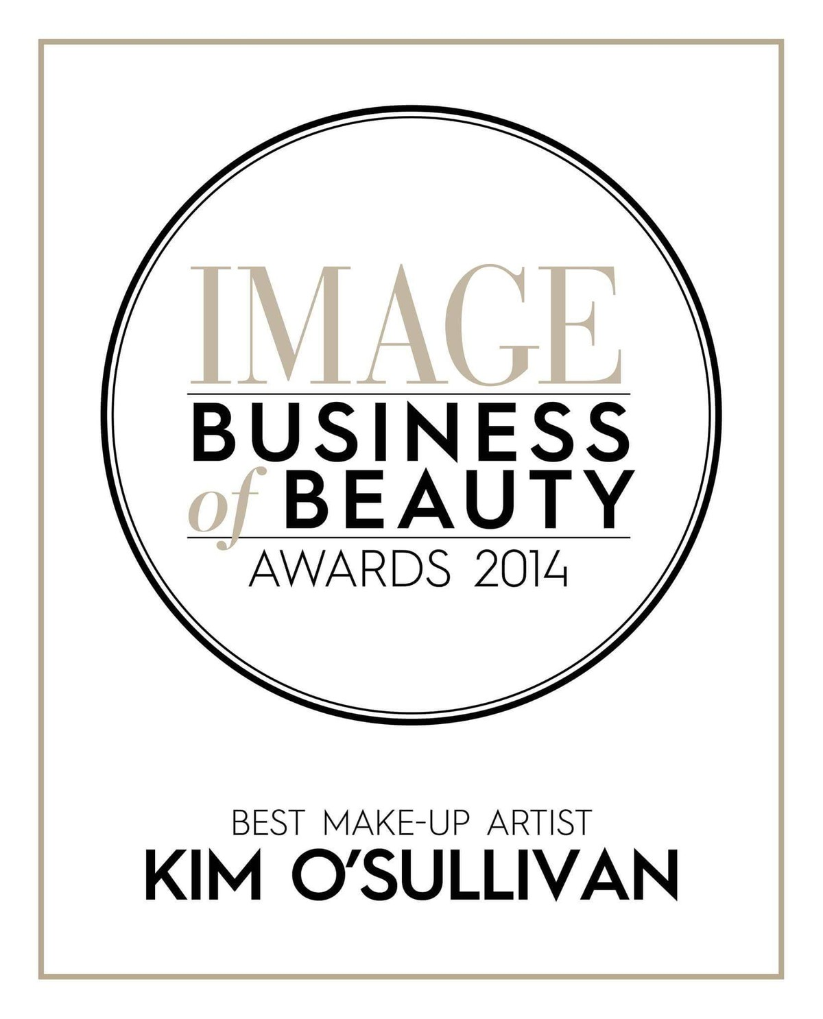 Image Business of Beauty Awards 2014