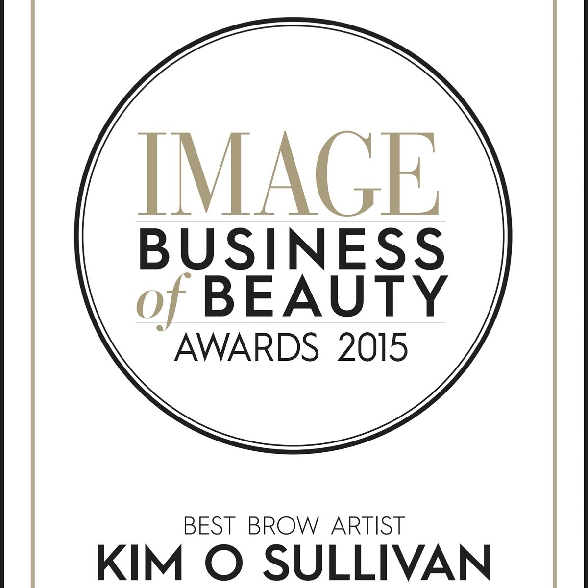 Image Business of Beauty Awards 2015