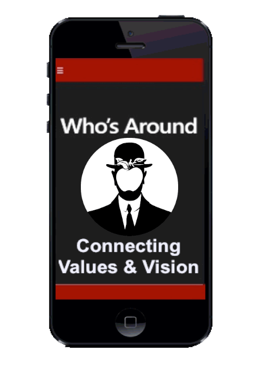 Who´s Around Logo Screen