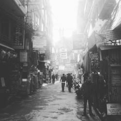 Thamel in muted tones