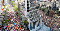 Auckland and Wellington School Strike 4 Climate marches