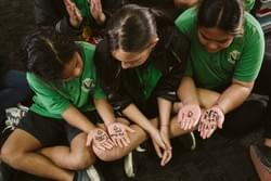 School students in support of our campaign to end poverty in New Zealand