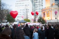 No Room For Racism rally in Aotea Square