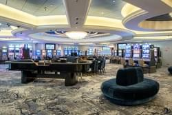Casino on the Crystal Serenity World Cruise ship.