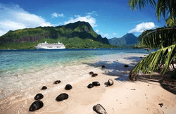 Beautiful destinations on a Crystal World Cruise.
