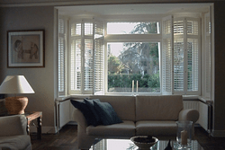 Interior Shutters Bay Window