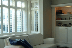 Lounge Rod Tilt Indoor Shutters