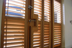 Natural Wood Style Shutters